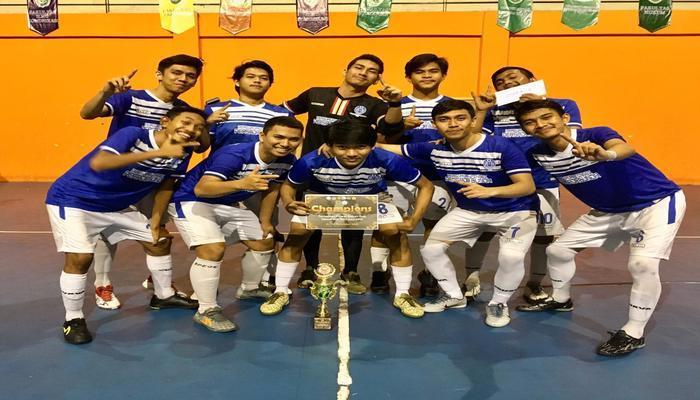 Tim Futsal Persada Bunda Juara  1 Liga Futsal Dekan Cup with Geo 2019 UIR