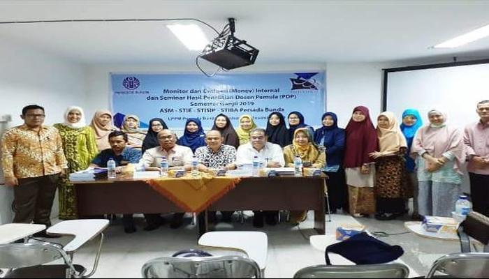 Persada  Bunda adakan Monev dan Seminar Hasil Penelitian Dosen Pemula (PDP)