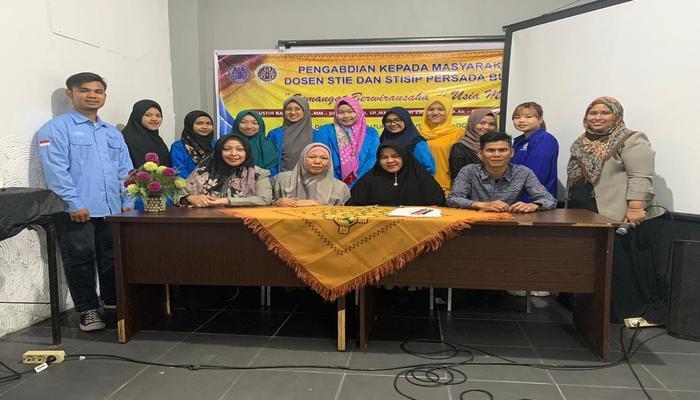 PKM Dosen STIE dan STISIP Persada Bunda : Semangat Berwirausaha di Usia Muda